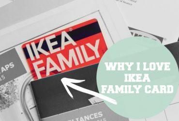 Why I Love Ikea Family Card