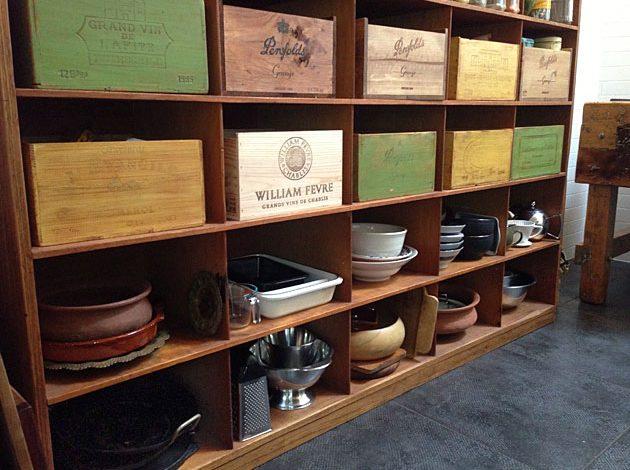 The Vintage Kitchen Pantry Unit