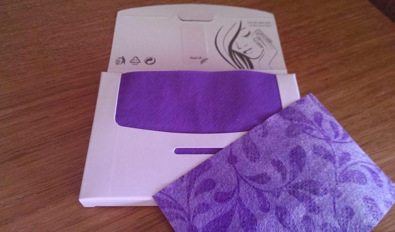 Kleenex Shine Absorbing Sheets