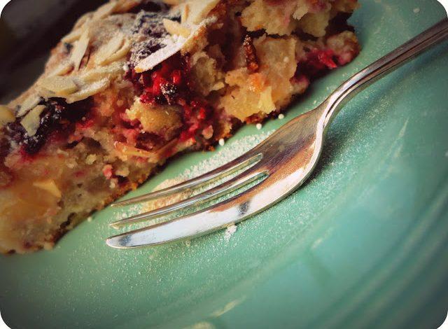 Apple And Raspberry Heaven Cake