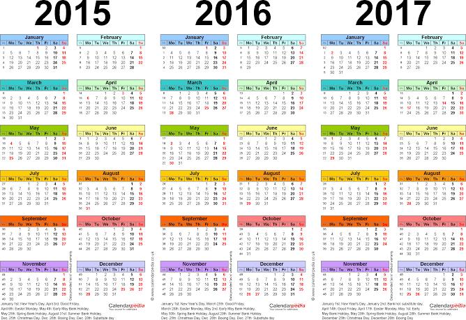The Best Free 2013 Printable Calendars