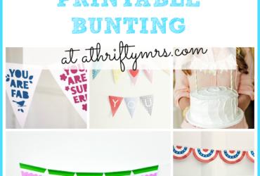 Free Printable Bunting
